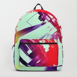 Abstract Cities, Skyline, city Backpack