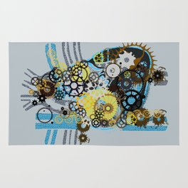 Cogs Of Your Heart Rug