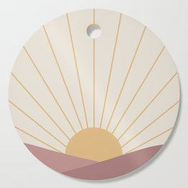 Morning Light - Pink Cutting Board
