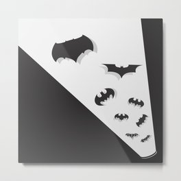 Evolution of the Bat Metal Print