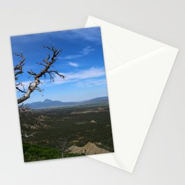 Overlooking The Valley Stationery Cards
