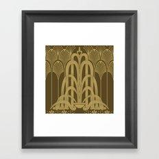 Gilded Glamour Framed Art Print