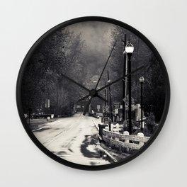 Nostalgic rain Wall Clock