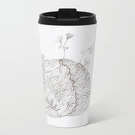 Your Mind is a Garden  Metal Travel Mug