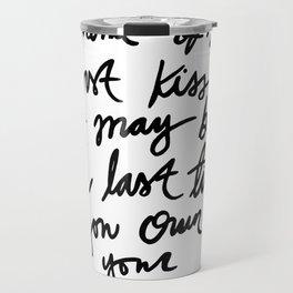 Quote, R. M. Drake Travel Mug