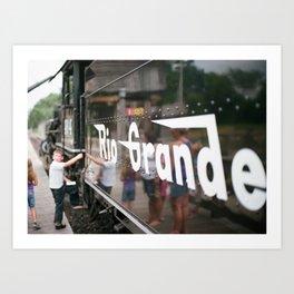 Rio Grande #464 Series: 3 Art Print
