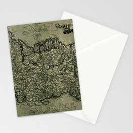 Map Of Ireland 1771 Stationery Cards