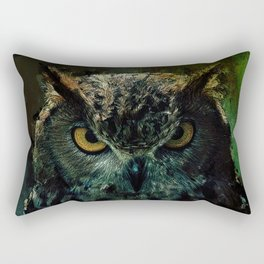 Owl - Owlish Tendencies Rectangular Pillow