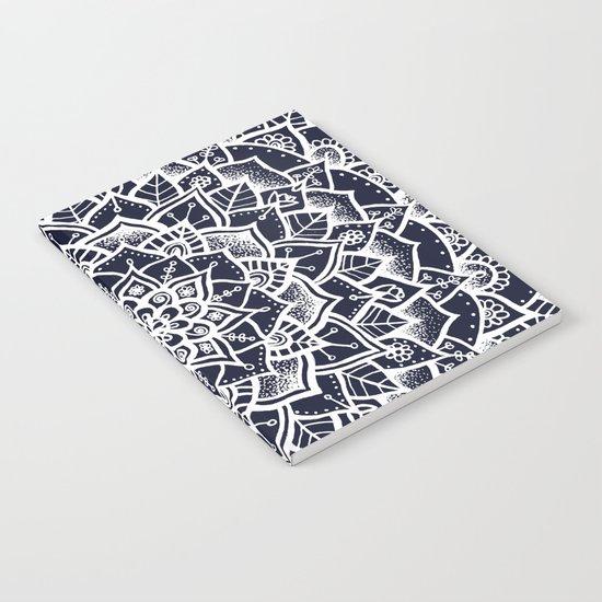 Midnight Blue Mandala Notebook