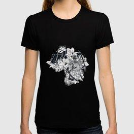 Japanese Samurai sword fighting martial arts gift T-shirt