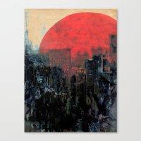 sunshine Canvas Prints featuring Last Sunshine by Fernando Vieira