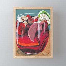 Fruit cocktail Framed Mini Art Print
