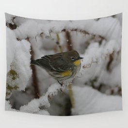 Yellow Rumped Warbler Wall Tapestry