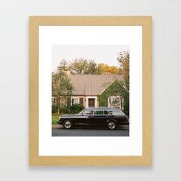 We're Neighbors Framed Art Print