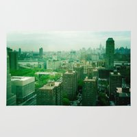brooklyn Area & Throw Rugs featuring Brooklyn by Claire Beaufort