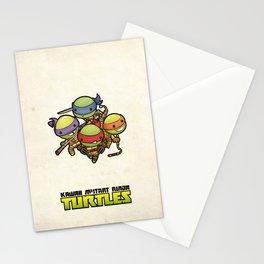 Kawaii Mutant Ninja Turtles Stationery Cards