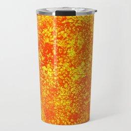 Brigitte,acrylic abstract painting on canvas Travel Mug