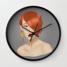 Posh in Space Wall Clock
