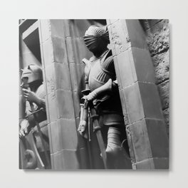 Suits of Armour Metal Print