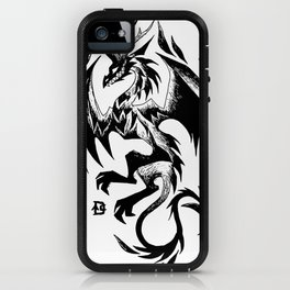 Dark Dragon Design iPhone Case