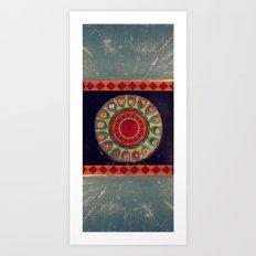 Mesmeric Art Print