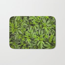 Sweet Leafs Bath Mat