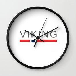 Viking Norway Wall Clock