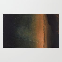Smyth - The Great Comet of 1843 Sunset Magical Stars Rug