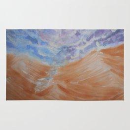 Thunder in the desert Rug