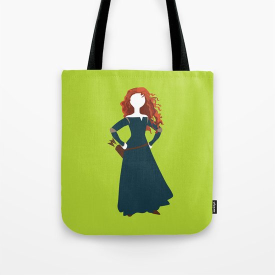 Merida from the Brave Tote Bag
