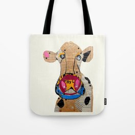 cow frazer Tote Bag