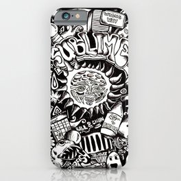 A Love Letter to Sublime iPhone Case