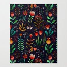 Bright flowers Canvas Print