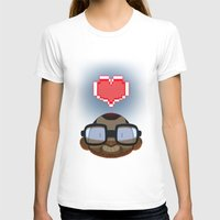 video games T-shirts featuring I love Video Games  by Shihab Aldeen