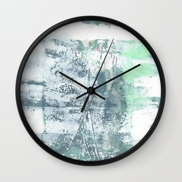 recycled reykjavik Wall Clock