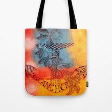 You Anchor Me zentangle anchor zendoodle doodle  Tote Bag