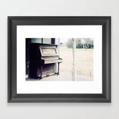 piano II Framed Art Print