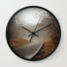 Fall on the Blue Ridge Parkway Wall Clock