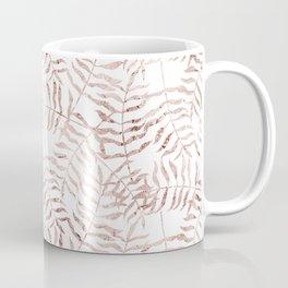 Rose Gold Leaves 2 Coffee Mug