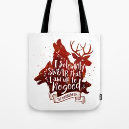 I solemnly swear - white Tote Bag