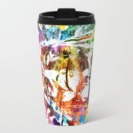 Native American Grunge Watercolor Travel Mug