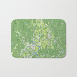 Pioneer Valley map Bath Mat