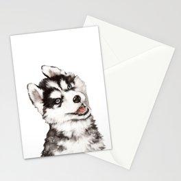 Baby Husky Stationery Cards