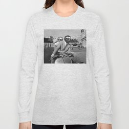 Sloth in Roman Holiday Long Sleeve T-shirt