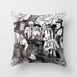 Tragedy of Highbar Harbor Throw Pillow