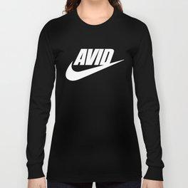 Avid Swoosh - Dark Long Sleeve T-shirt