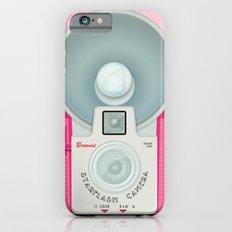 VINTAGE CAMERA PINK Slim Case iPhone 6s
