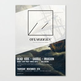 OM04: Off Modern Canvas Print
