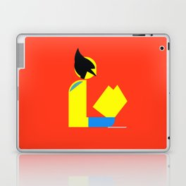Weapon X Gentleman Reads Laptop & iPad Skin