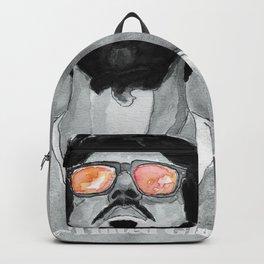 Rose-Tinted Glasses B&W Backpack